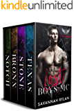 The Lost Boys MC Series: Books 1-4