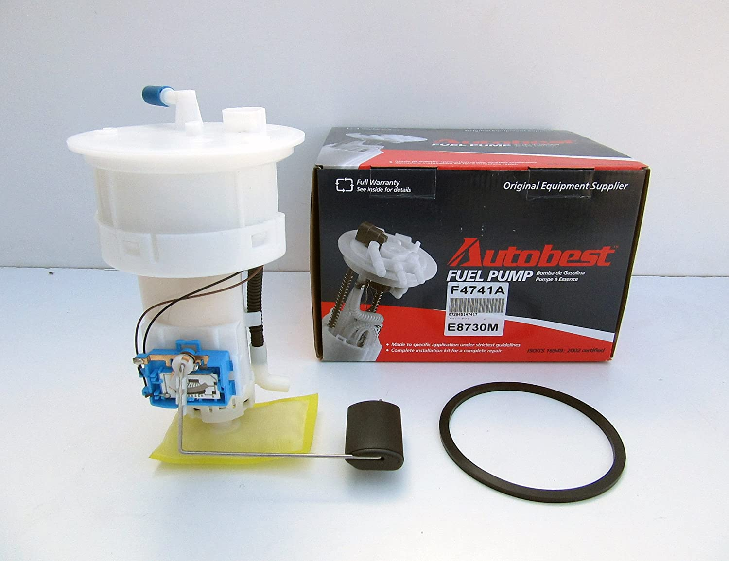 Autobest F4741A Fuel Pump Module Assembly