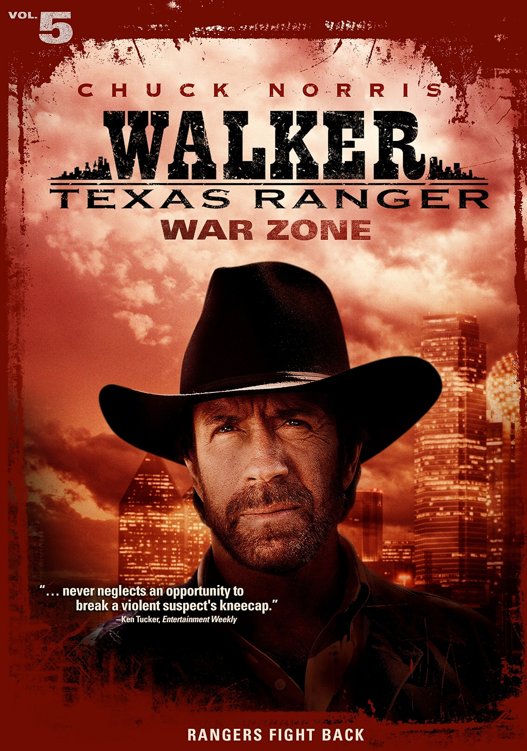 DVD : Walker Texas Ranger: War Zone (Full Frame, , Sensormatic)