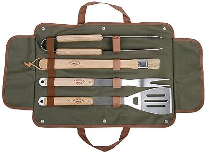 Amazon.com: Esschert Design Estados Unidos gt37 barbacoa ...