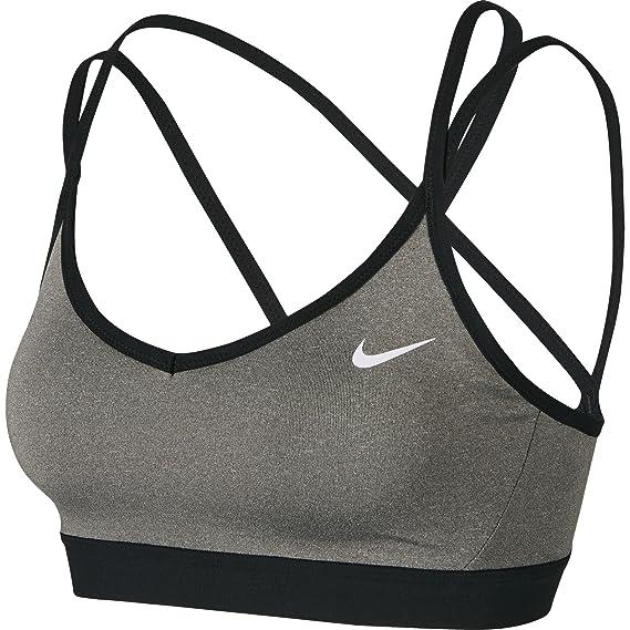 Nike Favorites Strppy Sujetador Deportivo, Mujer: Amazon.es: Ropa ...