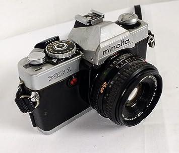 Amazon.com : Minolta XG-1 35mm Camera : Slr Film Cameras : Camera ...