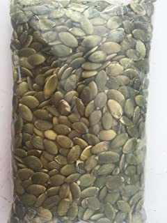 Raw without shell Pumpkin Seeds-Pepitas Semilla De Calabaza Sin Cascara, 1 lb
