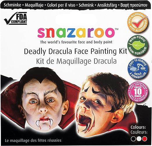 Snazaroo - Pintura facial, set temático Drácula mortífero: Snazaroo: Amazon.es: Juguetes y juegos