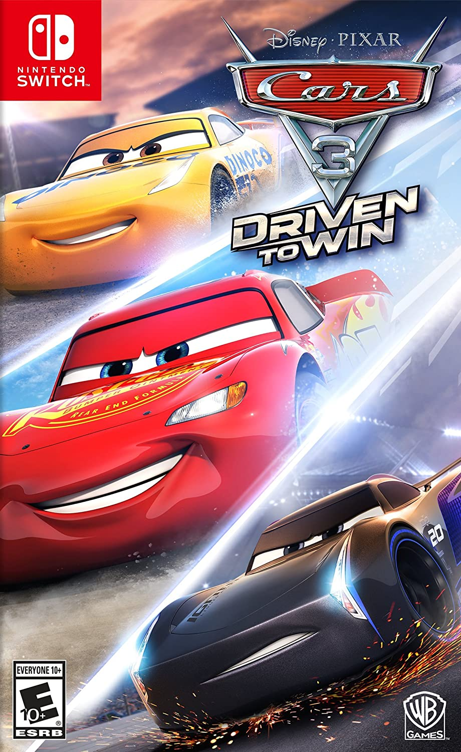 Cars 3 Driven to Win Nintendo Switch Game: Amazon.es: Videojuegos