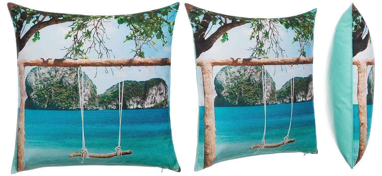 Bari Brand sseller Outdoor Coussin d/écoratif Coussins de Jardin 40263/Lounge Coussin/ /Taille /Phot Easy-Photoprint/ /leau et /à la salet/é/ /Fermeture /éclair/