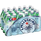 San Pellegrino Carbonated Natural Mineral Water 500ml PET Bottles (Total of 24)