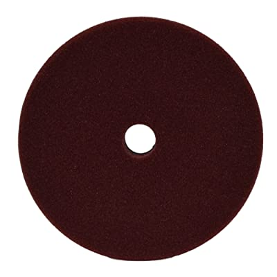"Ultima Coarse Maroon Polishing with Foam Grip 6""Pad: Automotive"