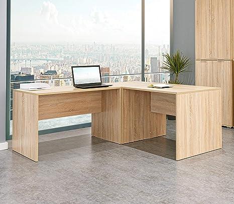 Computertisch mit Regal Schreibtisch PC Tisch Eckschreibtisch Computertisch
