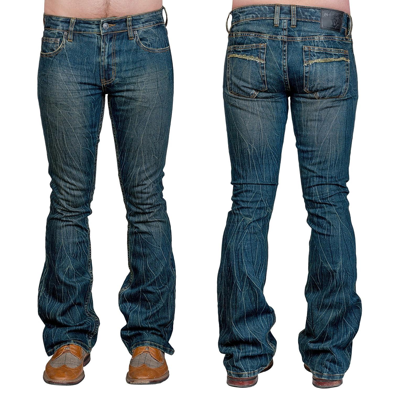 Wornstar Essentials Pants - Hellraiser Denim Boot Cut Blue