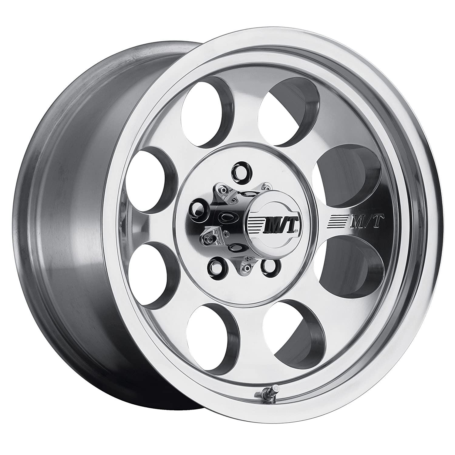 0 millimeters offset 17x9//8x6.5 Mickey Thompson Classic III Wheel with Polished Finish