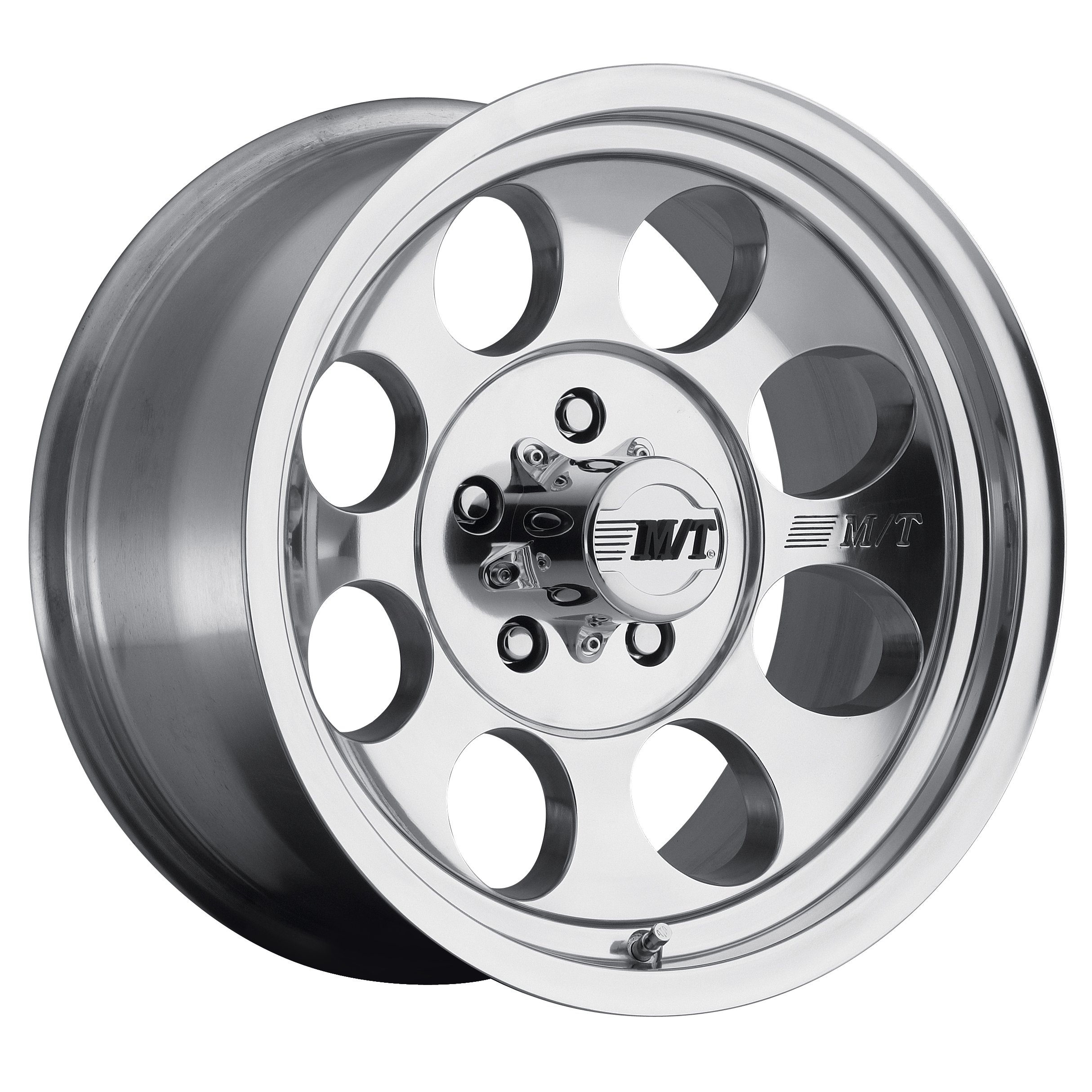 Mickey Thompson Classic III Wheel with Polished Finish (17x9''/5x5.5'') -12 millimeters offset