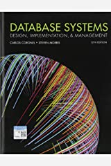 Database Systems: Design, Implementation, & Management Hardcover