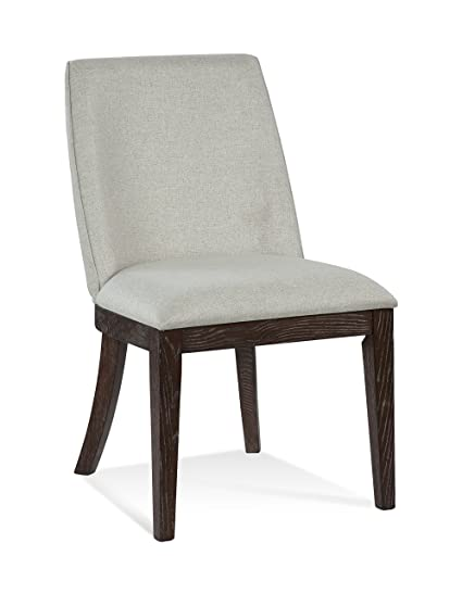 Metropolitan Home Denali Upholstered Side Chair, Linen