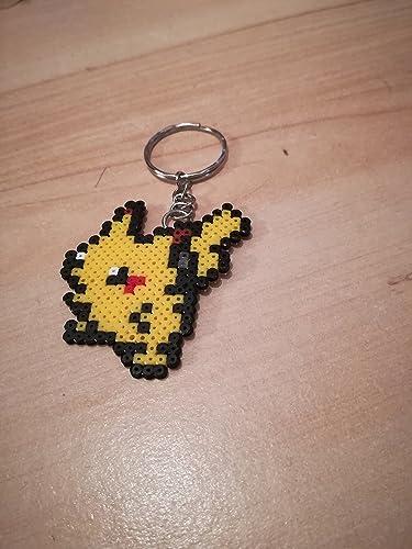 Pixel Art / Perler Beads Porte clé Pokemon Pikachu: Amazon