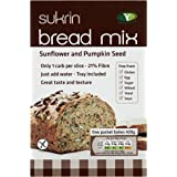 Sukrin Sunflower and Pumpkin Seed Low Carb Free-From Bread Mix. Low Fat, Low Calorie, Egg, Yeast, Soya, Sugar, Wheat and Gluten Free, Great Taste! (210g)