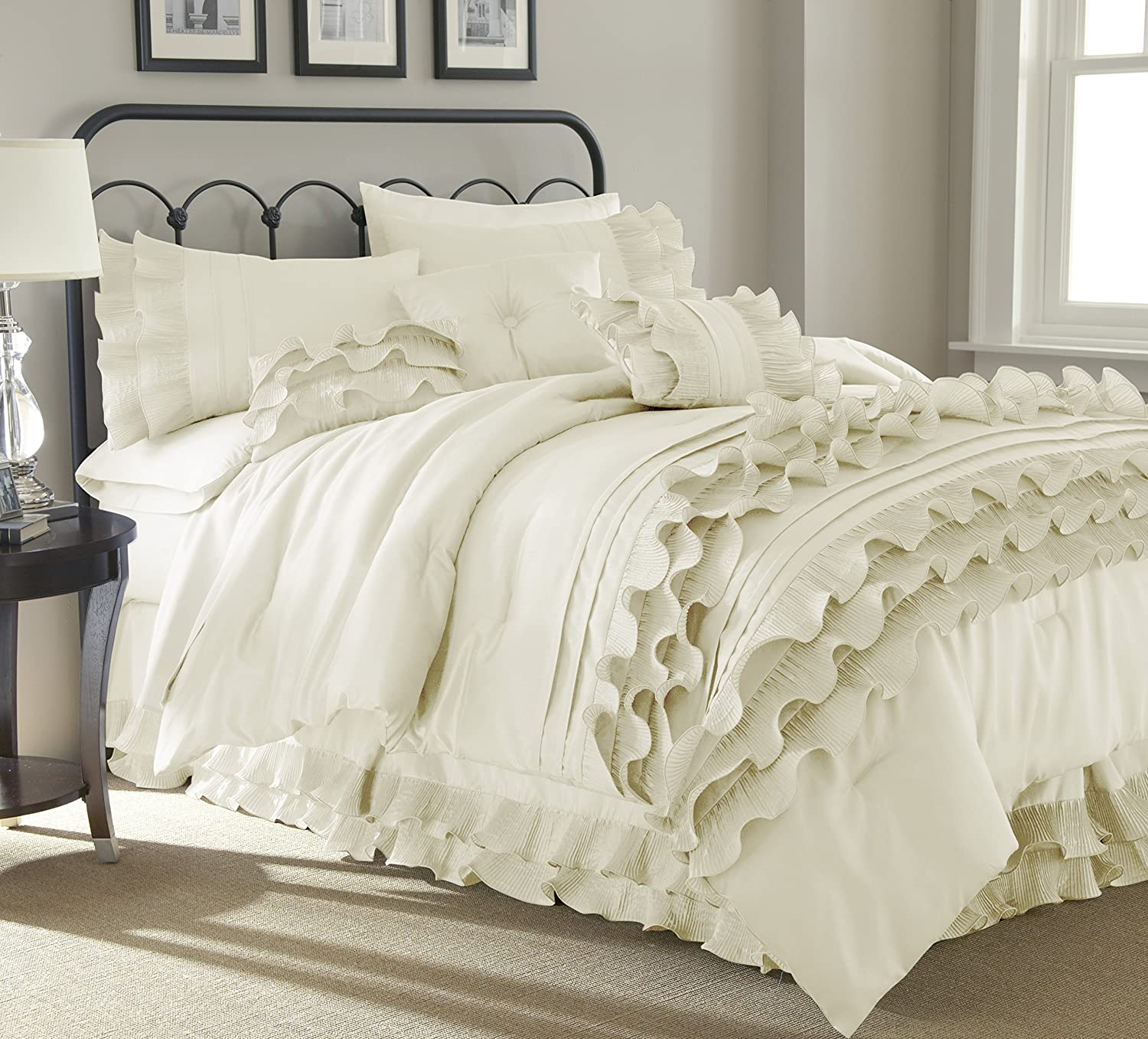 grey floral files stunning fab style uncategorized california bedding white king set trend for and sets comforter most cream