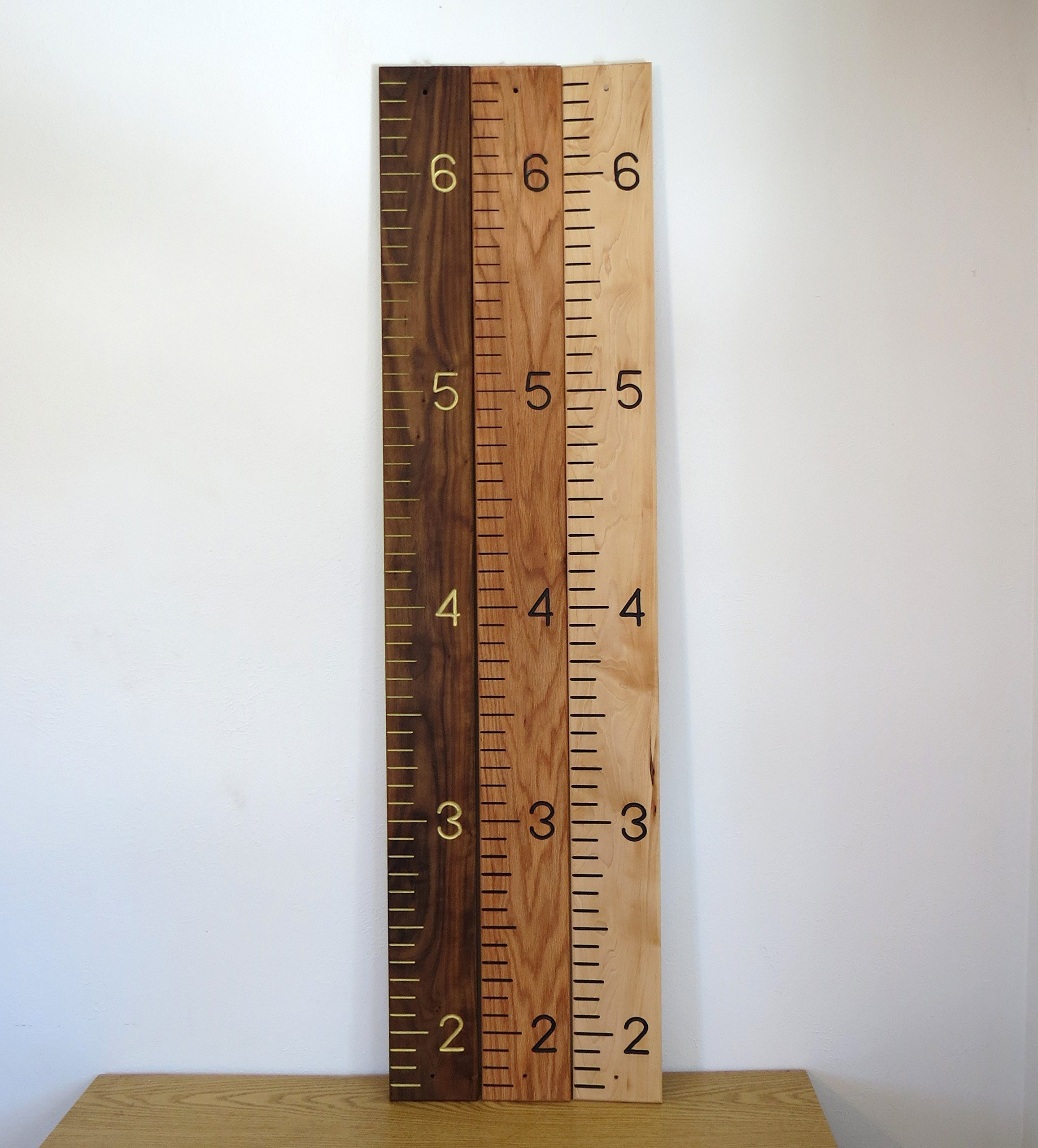 Quality, Solid Hardwood Growth Chart (Walnut, Oak, Maple) by SFW Products (Image #6)