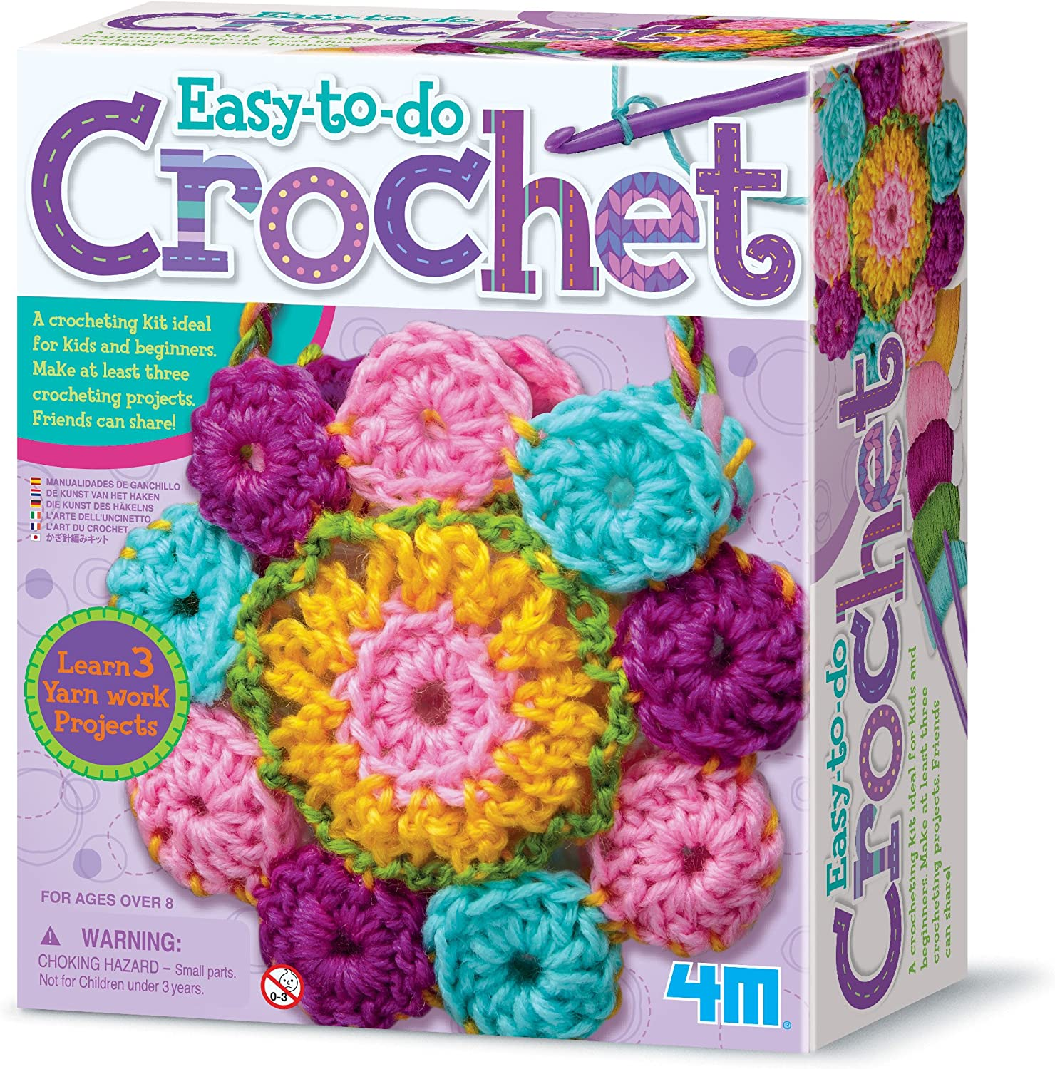 Crocheting For Beginners Kit