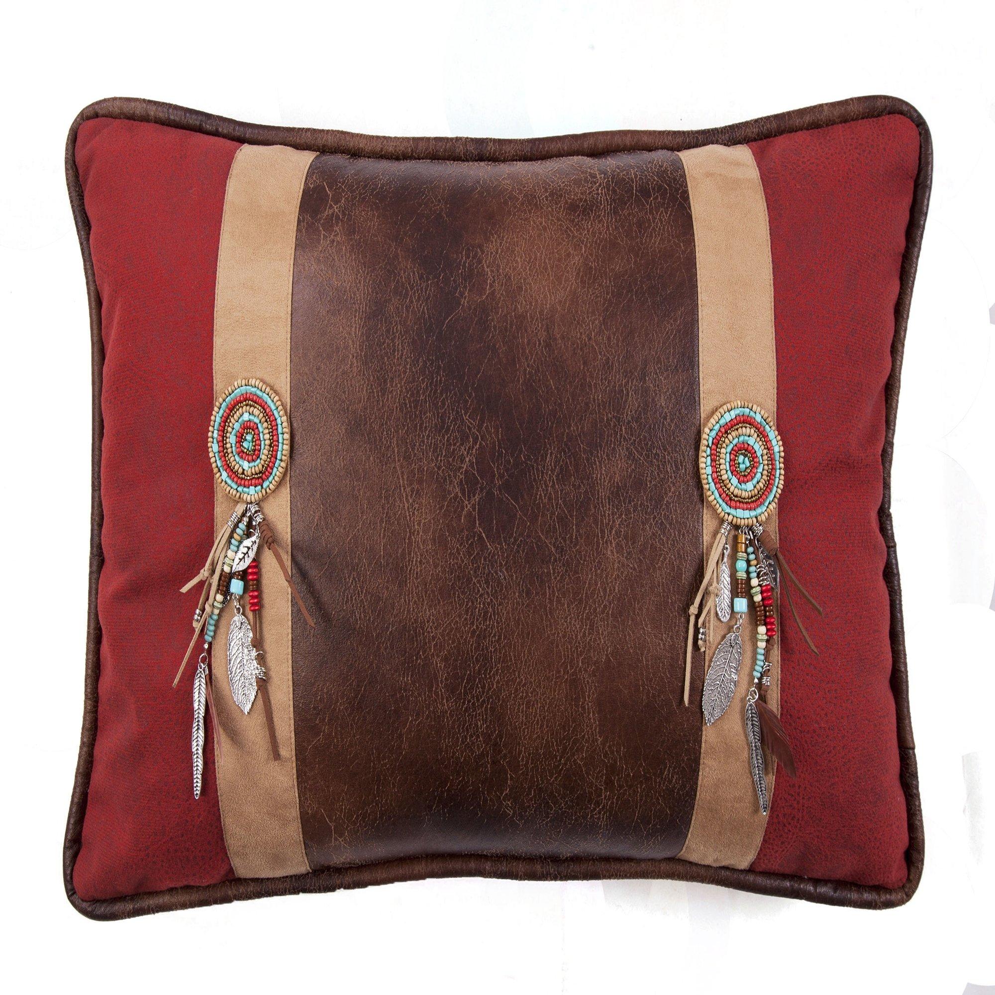 Saverio Inc. Corrales Sunset Navajo Tassel Pillow