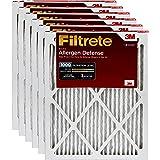 Filtrete 12x12x1, AC Furnace Air Filter, MPR 1000, Micro Allergen Defense, 6-Pack
