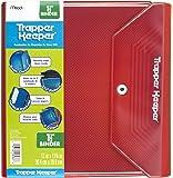 Mead Trapper Keeper 1.5 Inch Binder, 3 Ring Binder, Red (72680)