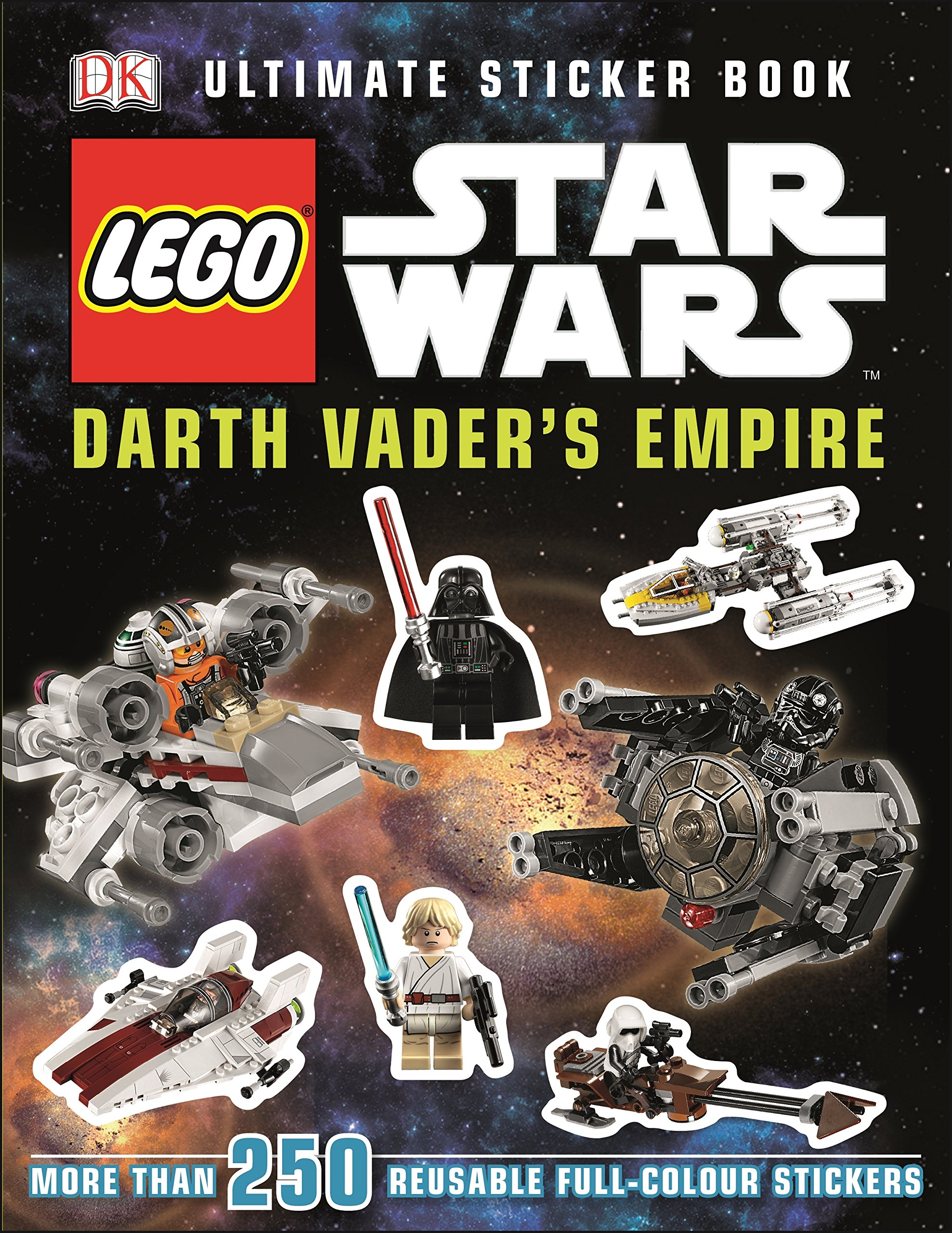 Lego Star Wars Darth Vader's Empire Ultimate Sticker Book (Ultimate Stickers)
