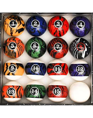 Attirant Iszy Billiards Pool Table Billiard Ball Set Marble   Swirl Style Several  Styles To Choose From