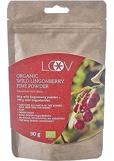 Zumo orgánico de arándanos rojos silvestres: 500 ml de LOOV ...