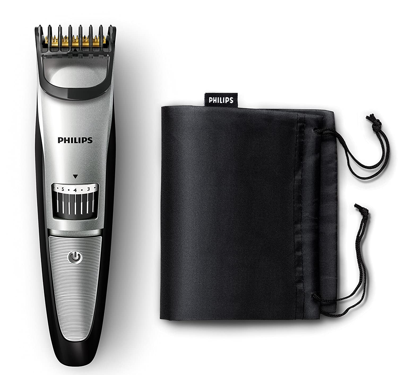 Philips BEARDTRIMMER Series 3000 QT4018/15 Recargable cortadora de ...