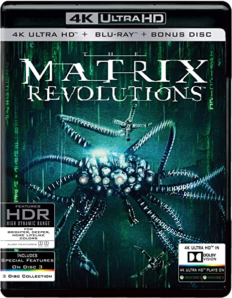 The Matrix Revolutions 2003 BRRip 720p Dual Audio In Hindi