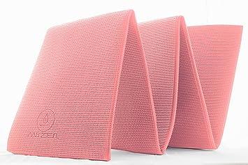 Esterilla de Yoga – Plegable y Antideslizante Yoga Fitness o Gimnasia – Gruesa (8 mm) – de Regalo Guía de Yoga y Bolsa de Transporte – Genial para ...