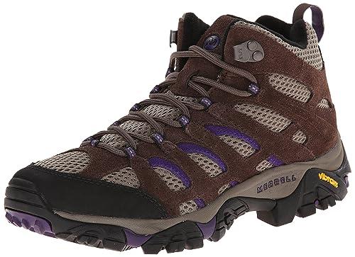 359bb7407e8 Merrell Women's Moab Ventilator Mid Hiking Boot