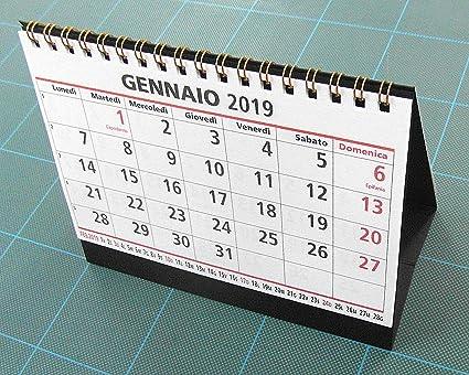 Calendario da tavolo 16 x 12 cm.: amazon.it: cancelleria e prodotti