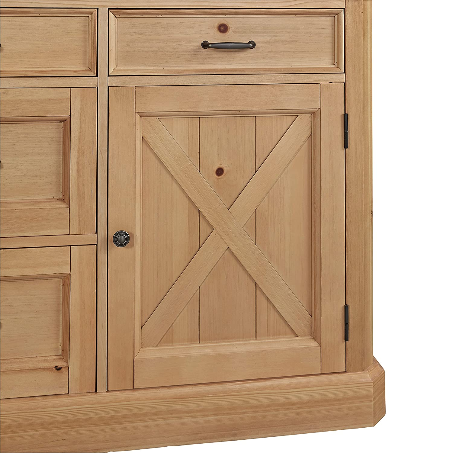 Amazon Home Styles 5524 94 Country Lodge Kitchen Island