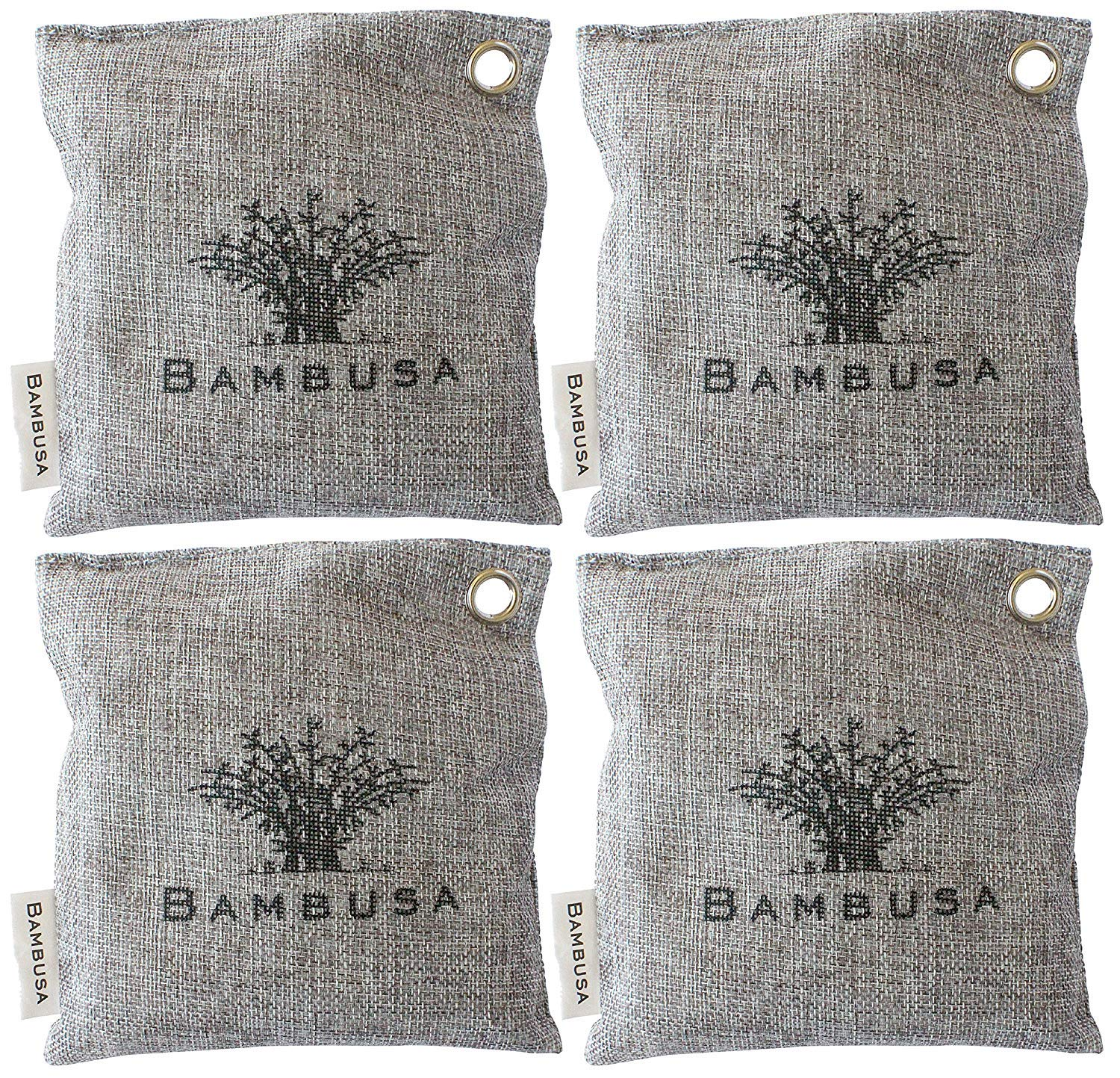 [Bambusa] [Bamboo Activated Charcoal Odor Absorber Bags, Nature Fresh Air Purifier, Deodorizer, Moisture Absorber, Air Purifying Purifier Freshener, and Odor Eliminator for Shoes] (並行輸入品) B07JH6PJNZ One Color 200g
