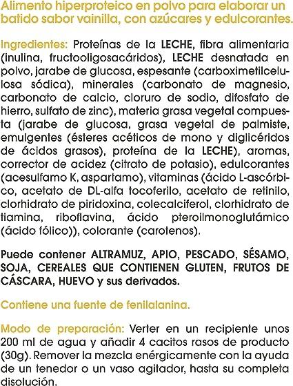 BiManán beFIT - Batido de Proteína Sabor Vainilla, para Tonificar tu Masa Muscular - 540g, 18 Raciones de 30g