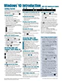 Windows 10 Introduction with 2016 Anniversary Update Quick Reference Guide (Cheat Sheet of Instructions, Tips & Shortcuts - Laminated)