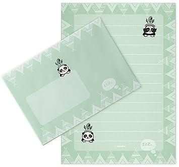 Panda de Juego de papel de cartas para niños: 25 hojas de ...