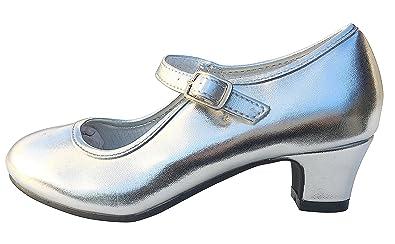 La Senorita Spanische Flamenco Schuhe - Weiß - Größe 41 - Innenmaß 26 cm qw8g8jR0h
