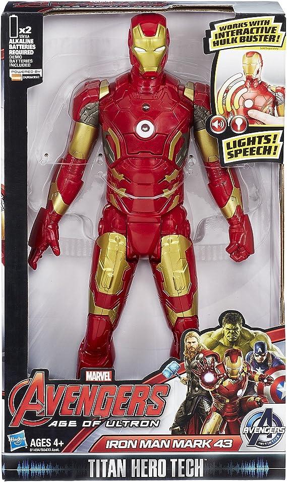 "Marvel Avengers Age of Ultron Hulk Titan Hero Tech Talking Hulk Figure 12/"""