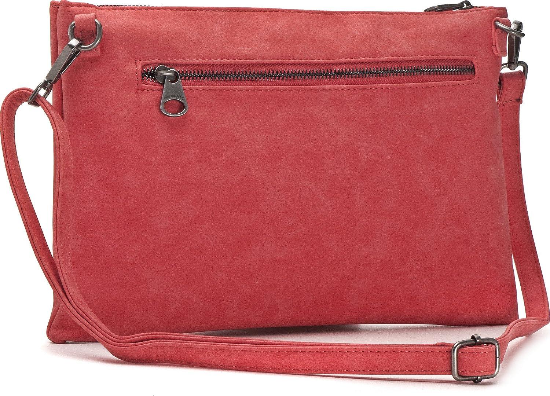 AN x AL x pr mochilas bolsos para el antebrazo color: beige bolsos de se/ñora bandoleras MIYA BLOOM 32.5 x 20.5 x 2 cm bolsos crossover bolsos de noche