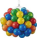 50 - 10000 bunte Bälle für Kinder, Babys und Tiere , 55mm Durchmesser Kinder ab 0