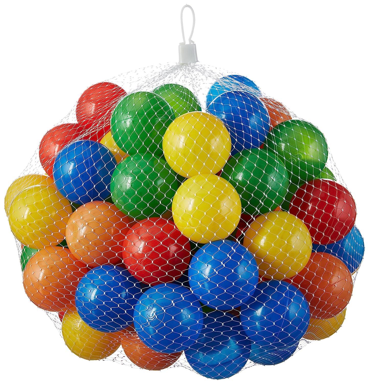50 - 10000 Bälle für Bällebad gemischt für Kinder, Babys, Tiere, 55 mm Durchmesser