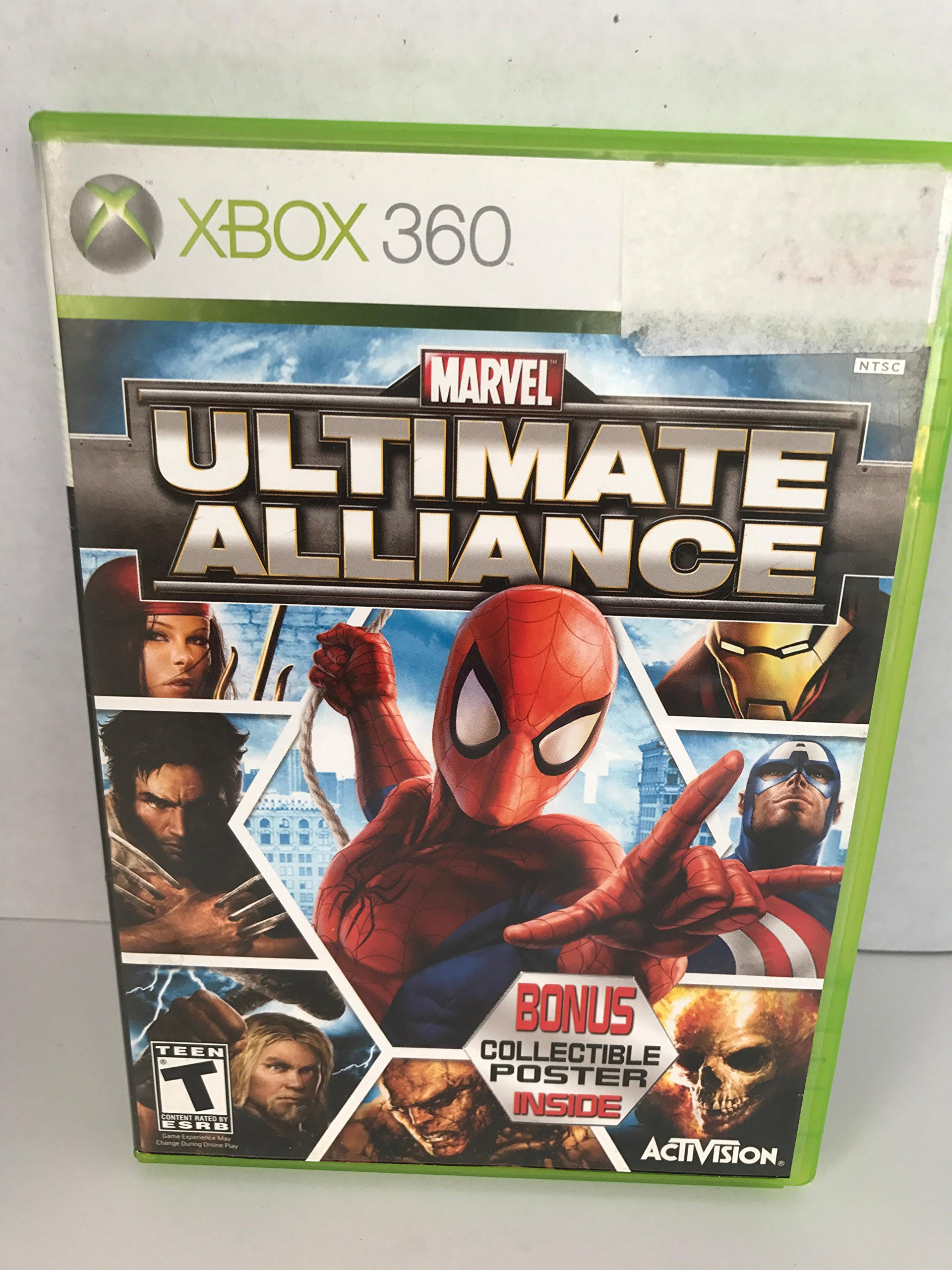 Amazon com: Marvel Ultimate Alliance: Video Games