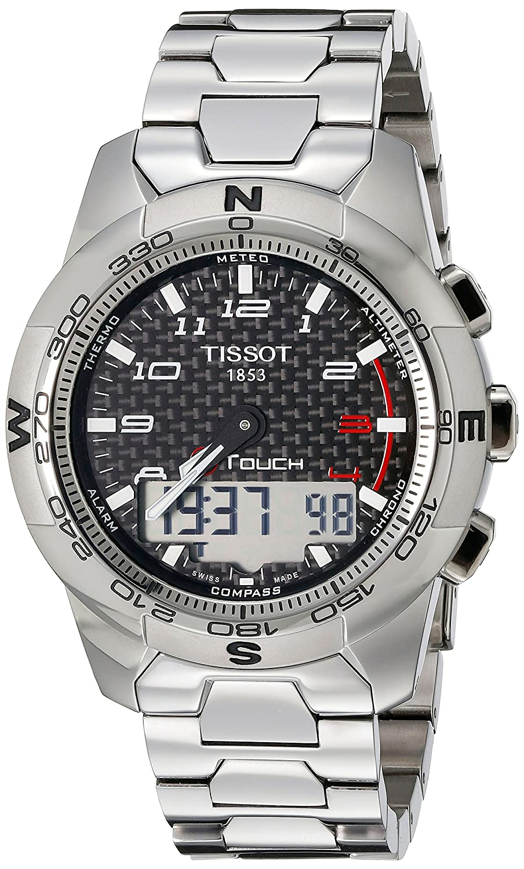 c0089dd3007 Tissot Gents Watch T-Touch II Titanium T0474204420700  Amazon.co.uk  Watches