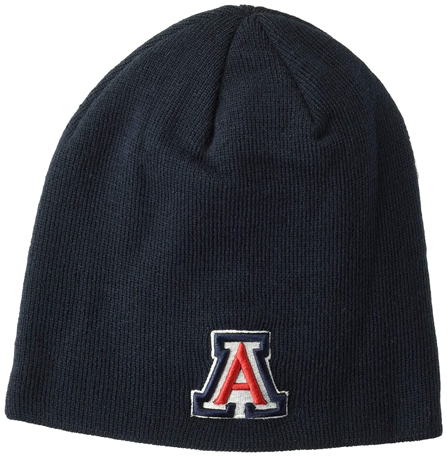 check out b2bc1 736d2 Amazon.com   ZHATS NCAA Arizona Wildcats Edge Knit Beanie, Adjustable, Team  Color   Sports   Outdoors