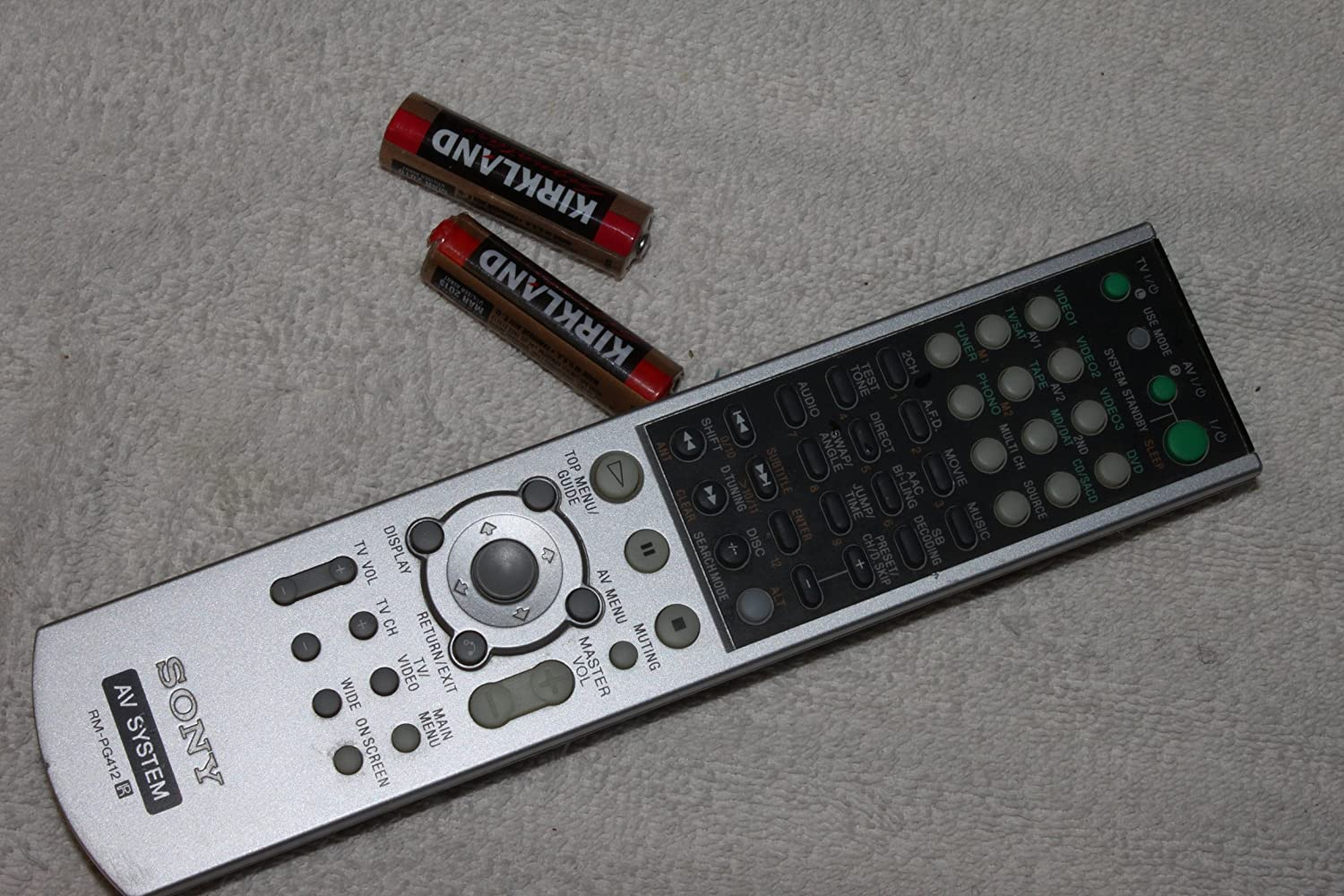 HT1800DP Replacement Remote Control for Sony STRDE895 HT6600DP STRK750P STRK751P