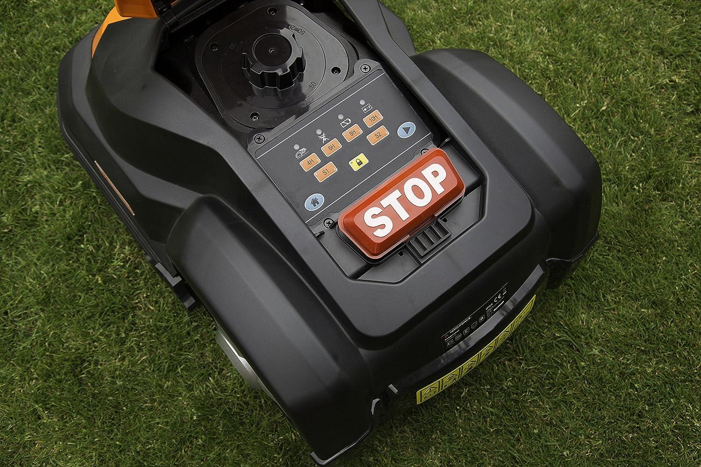 Robot cortacésped de YardForce SA500ECO, funciona solo, con ...