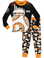 Star Wars Boys' Star Wars BB8 Pajamas